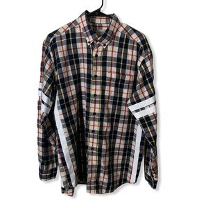 Furst of a Kind Flannel Oversized Button L…